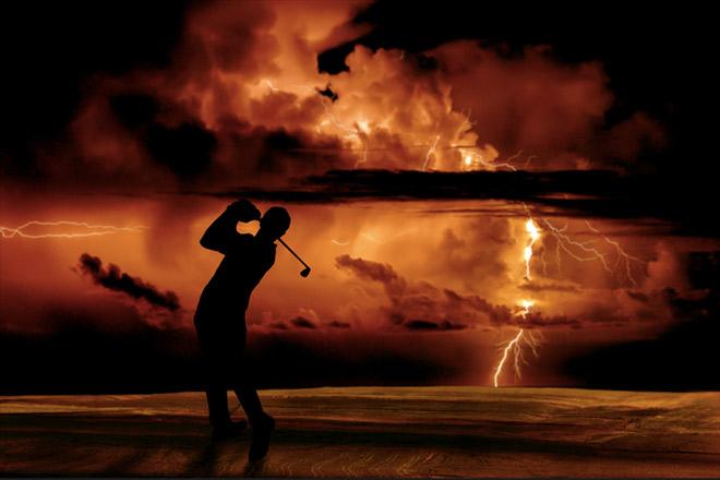 Gibt es eine Entfernung Gewitter Faustformel ? Fotocredit: Okan Metin