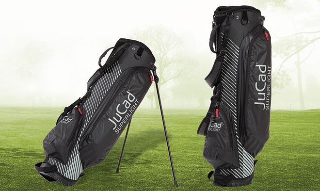 """Für die Reise oder für die """"schnelle"""" Runde ist das JuCad-Bag """"Superlight"""" (1,3 kg) für nur 120 Euro perfekt."""