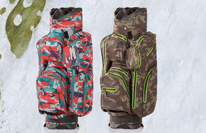 Golfbags Trend für diese Saison: Camouflage Look