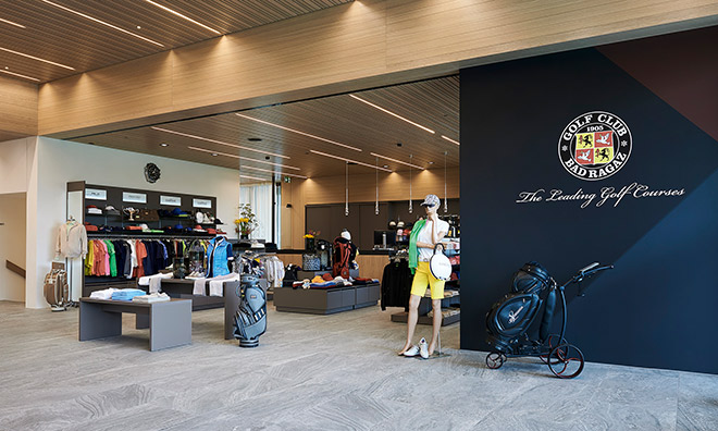 Neuer Pro Shop für Golf Club Bad Ragaz