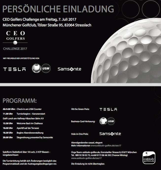 CEO Golf 2017