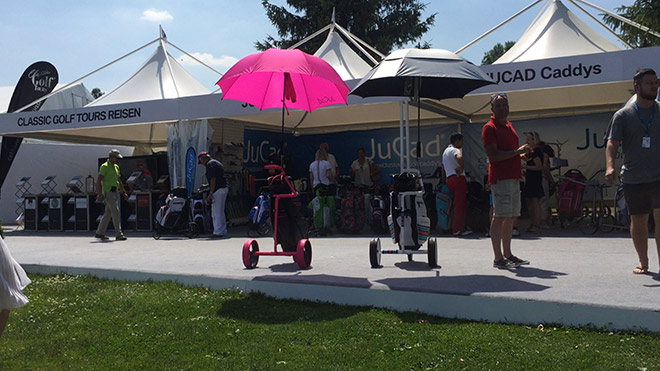 Diese JuCad Produktvielfalt erlebt man in keinem Golfshop!