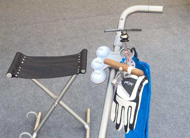 Cleveres Golf Equipment: Sieben Accessoires bekommt man mit dem JuCad Tablet unter