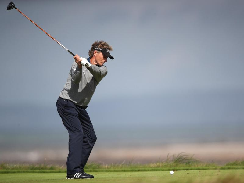 Bernhard Langer hat in Wales bei den British-Senior-Open seinen zehnten Major-Titel gewonnen. Foto: Nick Potts