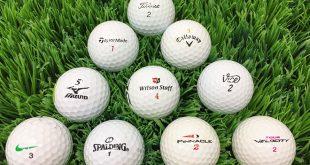 Welche Unterschiede gibt es bei Golfbällen?
