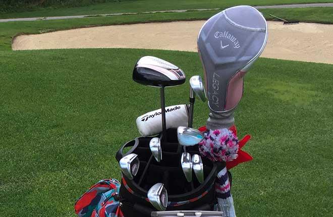 14 Golfschläger darf ein Spieler im Golfbag haben. Wir fassen zusammen, welche Auswahl er hat.