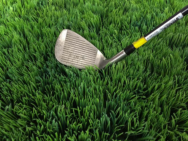 Der Lie ist beim Golfspiel sehr wichtig