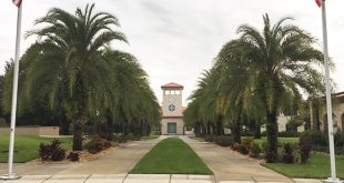 So sieht ein typischer Campus in den USA aus.