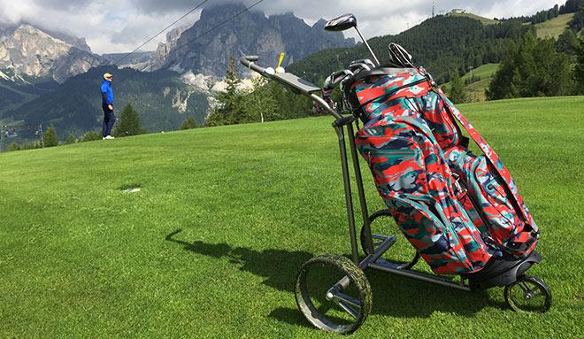 Mit dem JuCad Phantom macht man nicht nur eine tolle Figur auf dem Golfplatz! Golftrolley als Geldanlage!