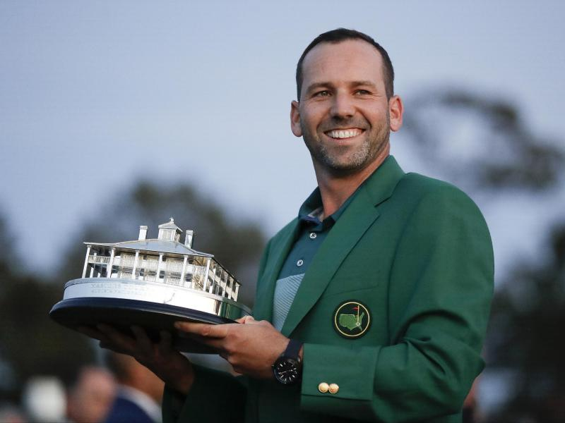 Sergio Garcia für Laureus World Sports Awards als Golfer nominiert!