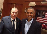 Nomen est omen: US-Ex-Präsident trifft Eagles-Präsident vor Präsidenten-Cup
