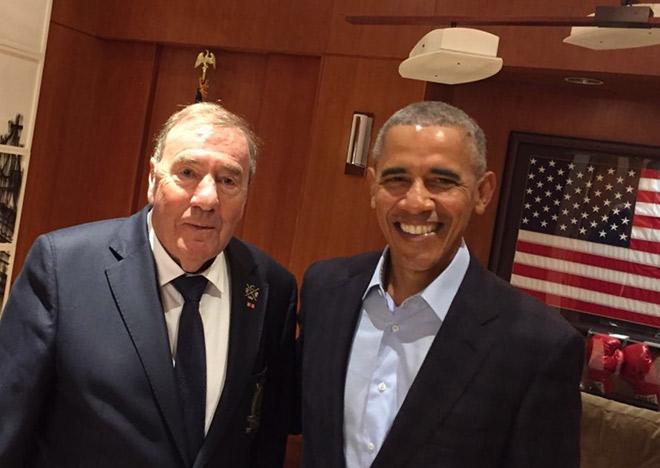 Jeder Golfer in Deutschland kennt diese zwei Männer! Barack Obama und der Münchner Charity Golf Club!