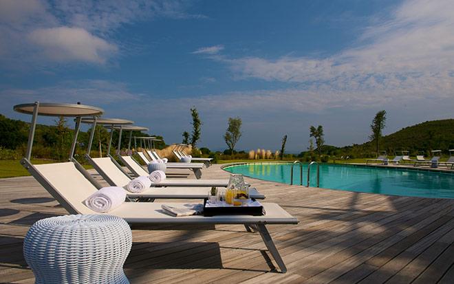 Urlaubsfeeling! Auf 77 ha erstreckt sich das komplette Resort, welches 2008 eröffnete. Der Golfplatz eröffnete 2016.