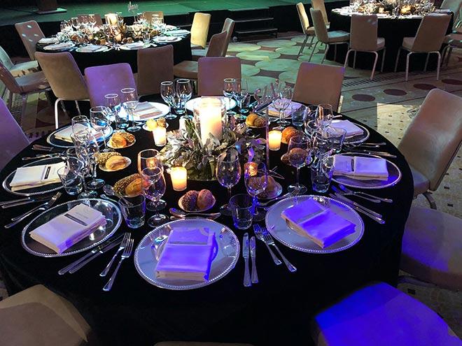Tolle Atmosphäre beim Gala-Dinner