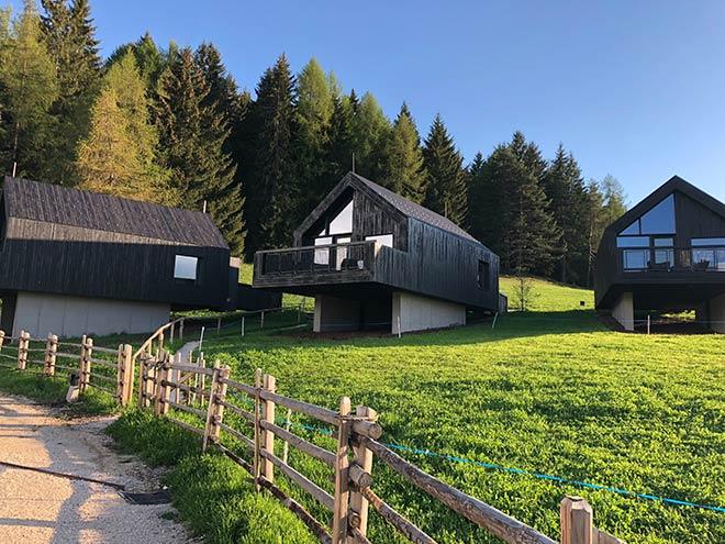 Noch mehr Rückzugsort in den drei neuen Wald-Chalets vom Hotel Pfösl