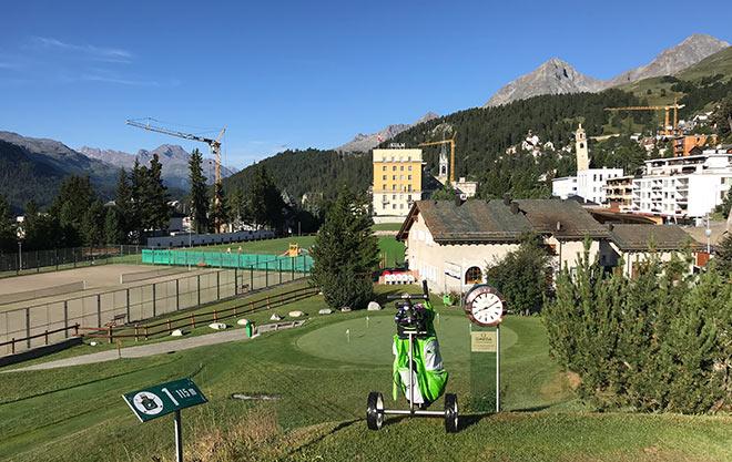 Sommer in St. Moritz vs. Golfhotel in Bayern