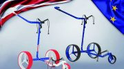 Für Golftrolley- und gleichzeitig Ryder Cup Fans: Zwei Sondermodelle
