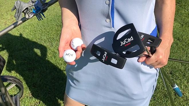 Bei der Putter-Serie JuCad Putter X in Mattschwarz gibt es drei Ausführungen. Golfaccessoires Putter
