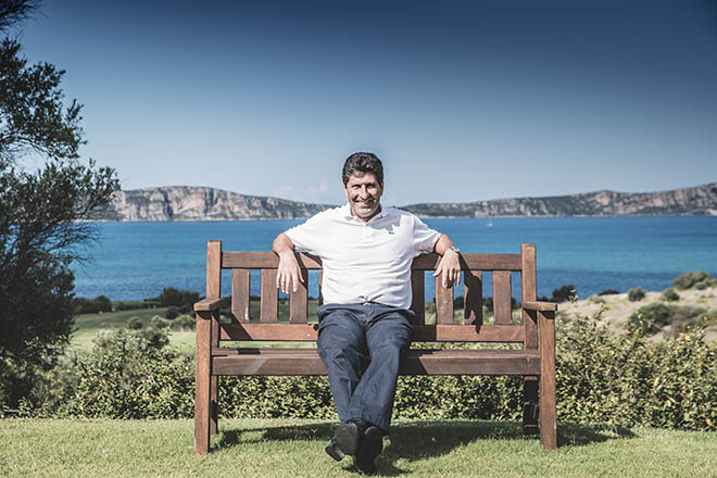 Olazabal entwirft zwei neue Golfplätze in Griechenland. Fotocredit: Walter Fischer