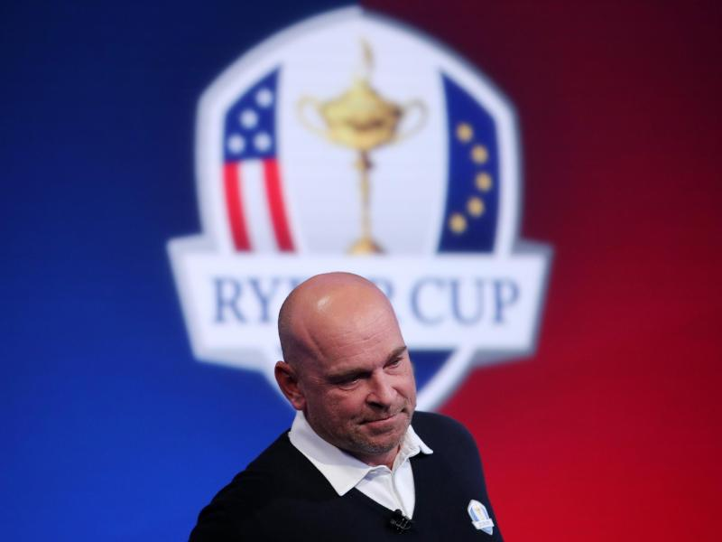 Ryder Cup Tattoo für Captain Thomas Björn?