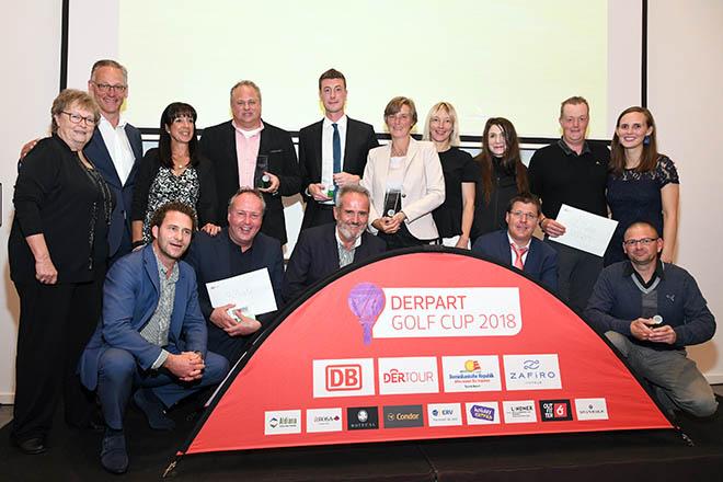 DERPART Golf Cup 2018 Galadinner und Siegerehrung 27.10.2018. Fotocredit: Elke A. Jung-Wolff