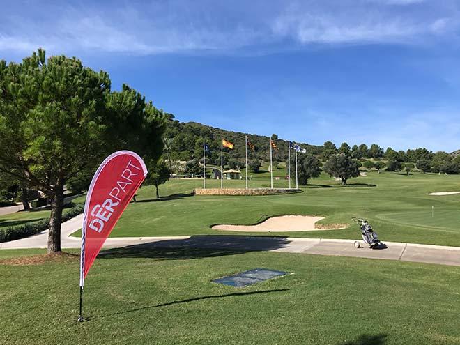 DERPART und das Hotel Zafiro Palace Alcudia richteten mit dem Golfclub Alcanada ein exklusives Golfturnier aus.