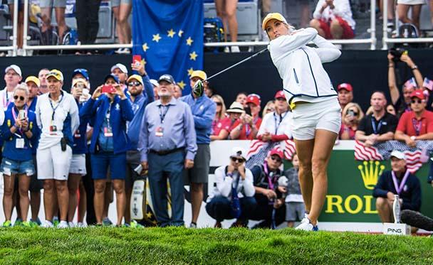 Melissa Reid @Ladies European Tour. Bald auf golftv zu sehen. Fotocredit: Tristan Jones