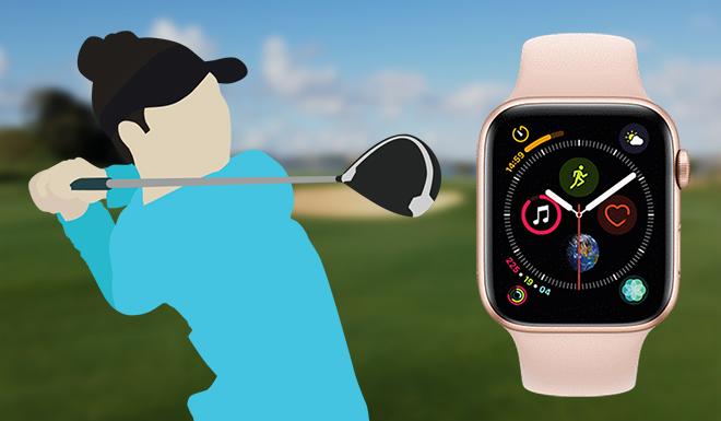 Werden bald die Golfplatzdaten auch über die Apple Watch abrufbar sein?