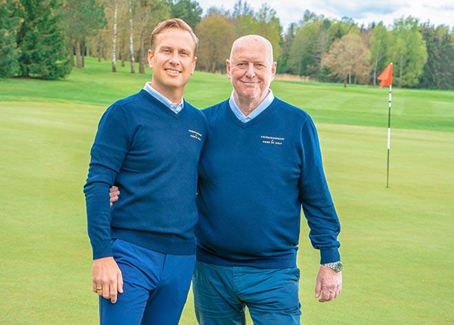 Home of Golf - Die Männer dahinter am Öschberghof: Alexander Hengst und Claus Feldt