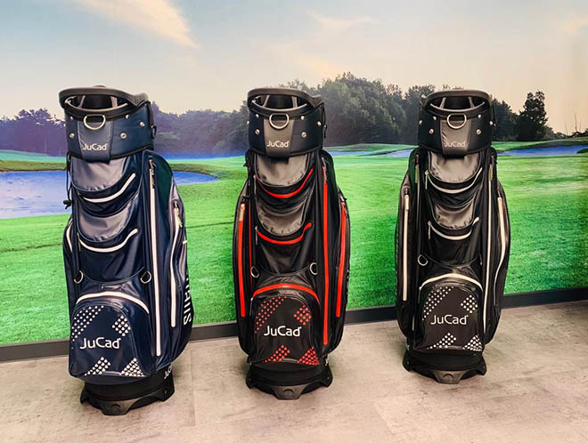 Golfbags wasserdicht, federleicht und praktisch dazu: JuCad Silence