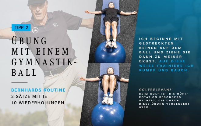 Bernhard Langers Workout Routine