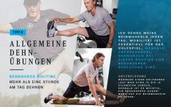 Fit und gesund wie Bernhard Langer: Sein persönliches Workout für jeden Tag!