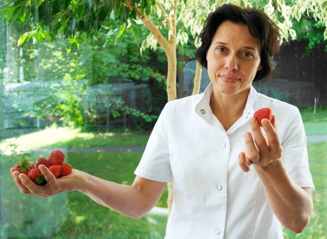 Petra Hübner ist Ökotrophologin und Ernährungsberaterin in der Buchinger Klinik. Fotocredit: Dr. Otto Buchinger