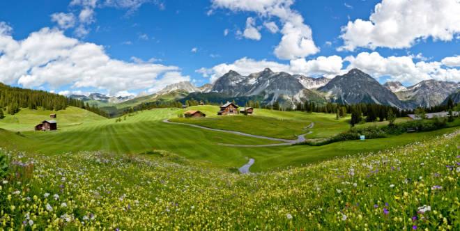 Golfen in Graubünden