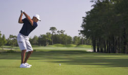 Golftraining mit Tiger Woods