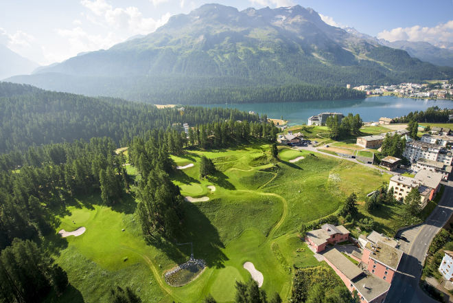 9-Loch Kulm Golf gehört zum Kulm Hotel St. Moritz