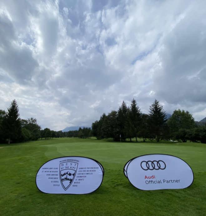 Golfen in Garmisch: Ein Fazit des Turniers: Man darf sich nicht nach dem Wetterbericht orientieren, denn für fünf Stunden war hier Dauerregen angesagt!