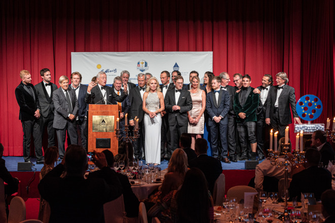 Prize Giving Ceremony @Gala Dinner Badrutt's Palace Hotel St. Moritz. Fotocredit: Manuel Stotzer