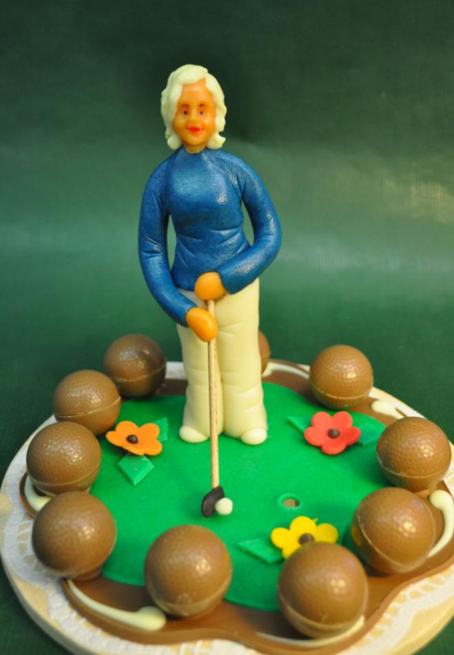 Personalisiertes Geschenk für Golfer