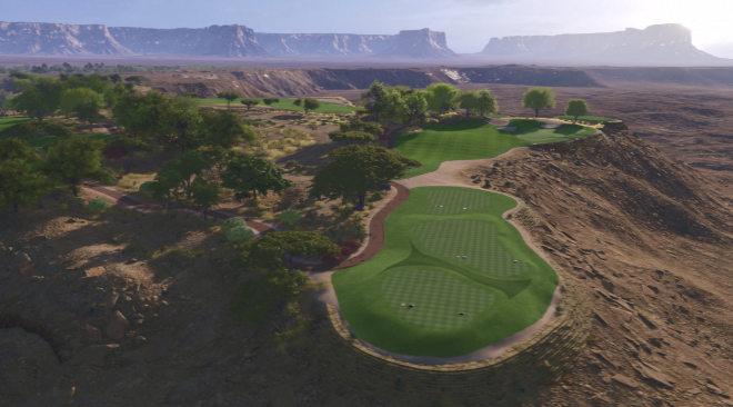 Mitten in der Wüste entsteht der Meisterschaftscourse Qiddiya Golf