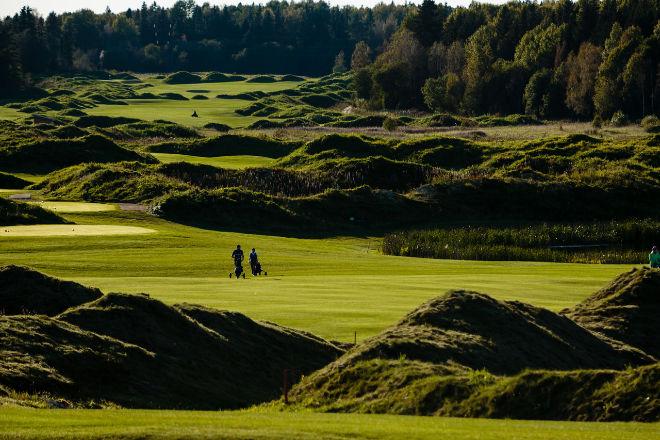 """Der finnische Golfplatzarchitekt Tilander beschreibt 'Gorki Golf' als """"Inland Links Course'"""