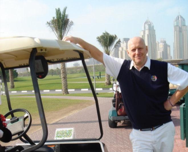 Claus Feldt vom World Golf & Business Club (WCLUB)