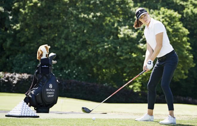 Laura Fünfstück aktuell ihre vierte Saison als Profigolferin auf der Ladies European Tour.