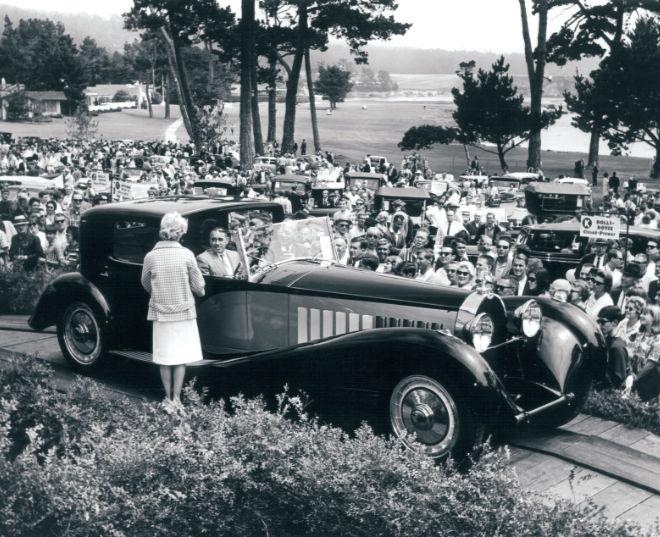Pebble Beach Concours d'Elegance 1932. Im Bild Bugatti - Type 41 Copyright: William C. Brooks